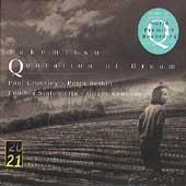 T.Takemitsu: Quotation of Dream (3, 1997), Day Signal (12/1996), etc / Oliver Knussen(cond), London Sinfonietta