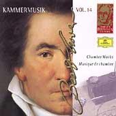 Complete Beethoven Edition Vol.14 -Chamber Works: Quartets WoO.36-1, WoO.36-2, WoO.36-3, etc / Amadeus Quartet, Hagen Quartett, etc