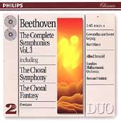 Beethoven: Complete Symphonies Vol 3 / Masur, Haitink