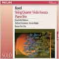 Ravel: String Quartet, Violin Sonata, Piano Trio