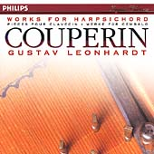 Couperin: Works for Harpsichord / Leonhardt