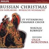 Russian Christmas / Korniev, Borodina, St Petersburg Choir