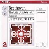 Beethoven: The Late Quartets Vol 1 / Quartetto Italiano