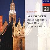 Beethoven: Missa Solemnis, Mass in C / Solti, Chailly
