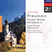 Pergolesi: Stabat Mater, Miserere II, etc;  Lotti, Caldara