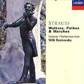 The Strauss Family: Waltzes, Polkas & Marches / Boskovsky