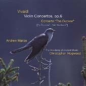 Vivaldi: Violin Concertos op 6 / Manze, Hogwood, et al
