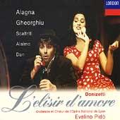 Donizetti: L'elisir d'amore / Pido Alagna, Gheorghiu, et al