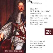 Handel: Water Music, Royal Fireworks, etc / Hogwood, et al