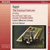 Suppe: The Famous Overtures / Marriner, London PO