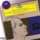 Mozart: Piano Concertos No.8, No.23, No.24 / Wilhelm Kempff(p), Ferdinand Leitner(cond), Bamberg Symphony Orchestra, Berlin Philharmonic Orchestra