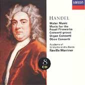 Handel: Water Music, Fireworks Music, etc / Marriner, et al