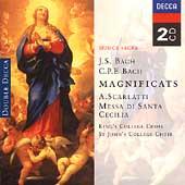 J.S. Bach, C.P.E. Bach: Magnificats;  A. Scarlatti