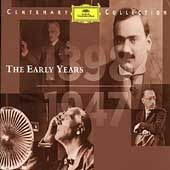 Centenary Collection Vol.1 -1898-1947: The Early Years