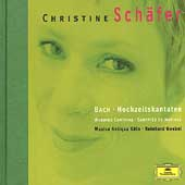 J.S.Bach: Wedding Cantatas BWV.202, BWV.51, BWV.210 (1/1999) / Christine Schafer(S), Reinhard Goebel(cond), Musica Antiqua Cologne