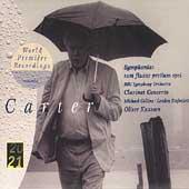 E.Carter: Symphonia, Clarinet Concerto / Oliver Knussen(cond), BBC Symphony Orchestra