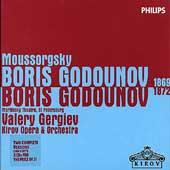 Moussorgsky: Boris Godounov / Valery Gergiev(cond), Kirov Opera Orchestra, etc