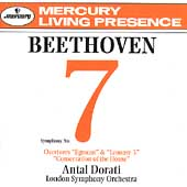 Beethoven: Symphony no 7, Overtures / Dorati, London SO