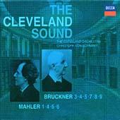 Bruckner: Symphonies Nos 3-5, 7-9; Mahler: Symphonies Nos 1, 4-6