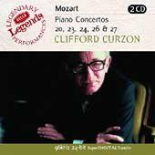 クリフォード・カーゾン/Mozart: Piano Concertos no 20, 23, 24, 26 & 27 / Curzon [4684912]