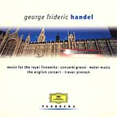 Handel: Water Music, Fireworks Music, etc / Trevor Pinnock(cond), The English Concert, etc