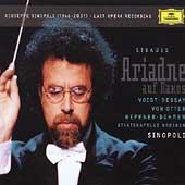 R.Strauss: Ariadne Auf Naxos / Giuseppe Sinopoli(cond), Staatskapelle Dresden, Deborah Voigt(S), Ben Heppner(T), etc