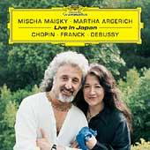 Live in Japan - Chopin, Franck, Debussy / Mischa Maisky(vc), Martha Argerich(p)