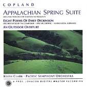 Copland: Appalachian Spring Suite, etc / Clark, Pacific SO