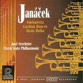 Janacek: Sinfonietta, Lachian Dances, etc / Serebrier, Czech