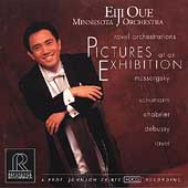 Ravel Orchestrations - Pictures at an Exhibition, etc / Oue