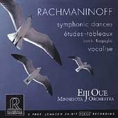 Rachmaninov: Symphonic Dances, Etudes-Tableaux, etc / Oue