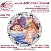 Handel: Acis & Galatea / Somary, Baird, Hirst, Dooley, etc