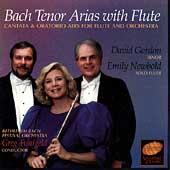 Bach: Tenor Arias with Flute / David Gordon, Emily Newbold