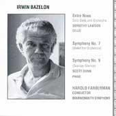 Bazelon: Entre-nous, Symphony no 9, etc / Farberman, Lawson