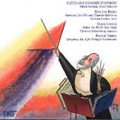 Finney, London, Thorne / London, Cleveland Chamber Symphony