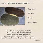 Paul Freeman Introduces... Vol 4 - Siegmeister, et al
