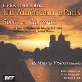 Chistopher Berg - Un Americain a Paris - Songs and Cantatas