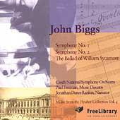John Biggs: Symphonies no 1 & 2, etc / Freeman, Czech NSO