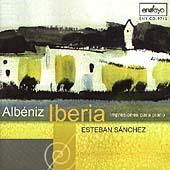 Albeniz : Iberia - Impresiones para piano / Esteban Sanchez