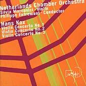 Composers' Voice - Kox: Violin Concertos / Marcovici, et al