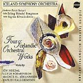 Four Icelandic Orchestral Works / Petri Sakari, Iceland SO