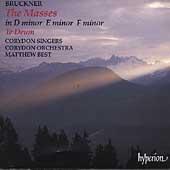 Bruckner: The Masses, Te Deum, etc / Best, Corydon Singers