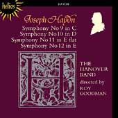 Haydn: Symphonies no 9-12 / Roy Goodman, Hanover Band