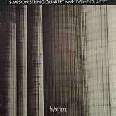 Simpson: String Quartet no 9 / Delme Quartet