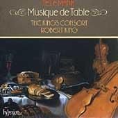 Telemann: Musique de Table / Robert King, King's Consort
