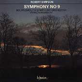 Simpson: Symphony no 9 / Handley, Bournemouth Sym Orch