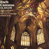 Bach: Cantatas BWV 54, 169, 170 / King, Bowman