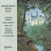 Mendelssohn: Choral Music / Best, Corydon Singers, et al
