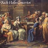Bach: Violin Concertos / Mackintosh, Wallfisch, King