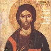 Rachmaninov: Vespers / Matthew Best, Corydon Singers